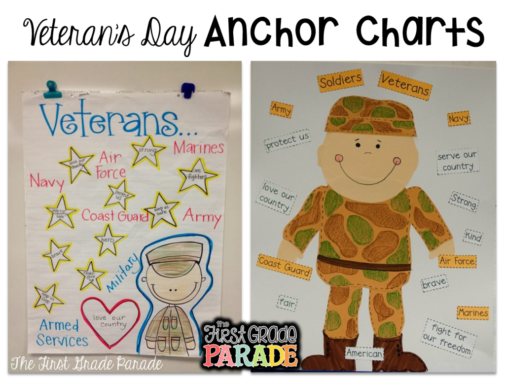 Veteran S Day Freebies Too The First Grade Parade