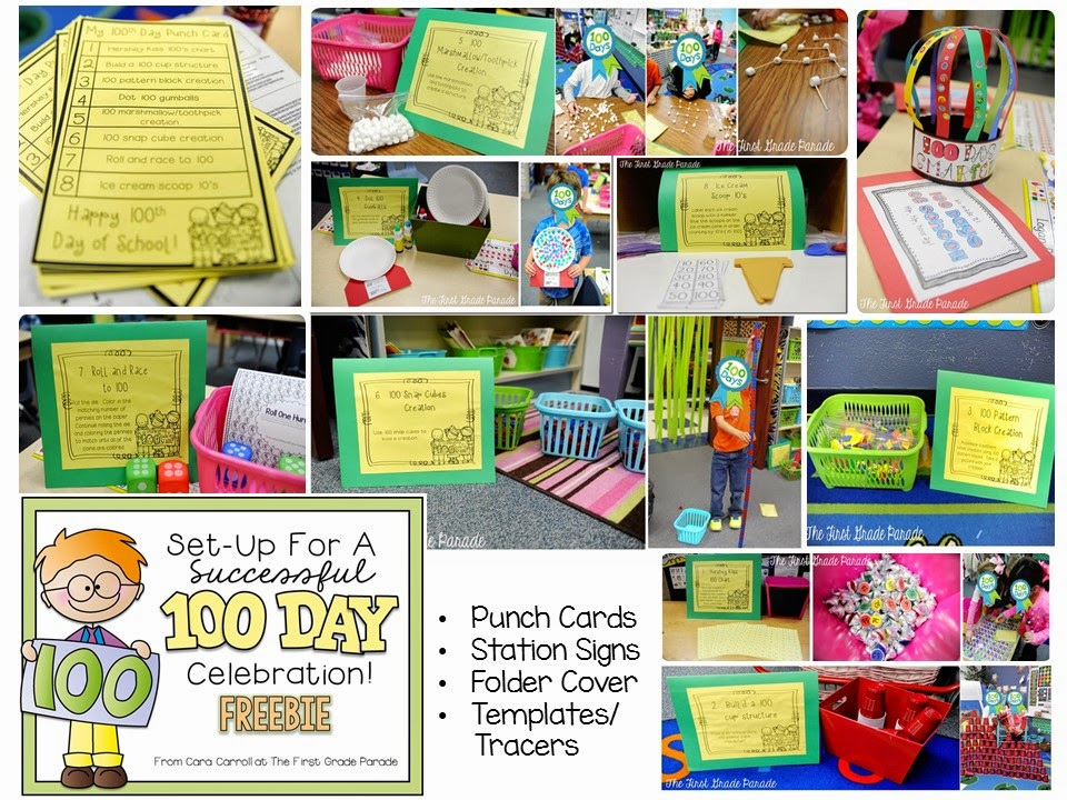 100th Day of School - The First Grade Parade