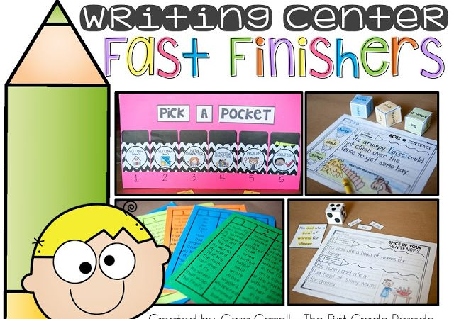 Writing Fast Finishers