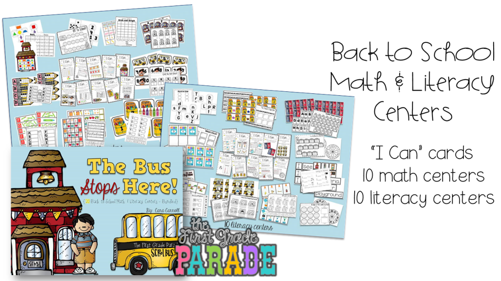 Back To School Ideas & Freebies!!! - The First Grade Parade