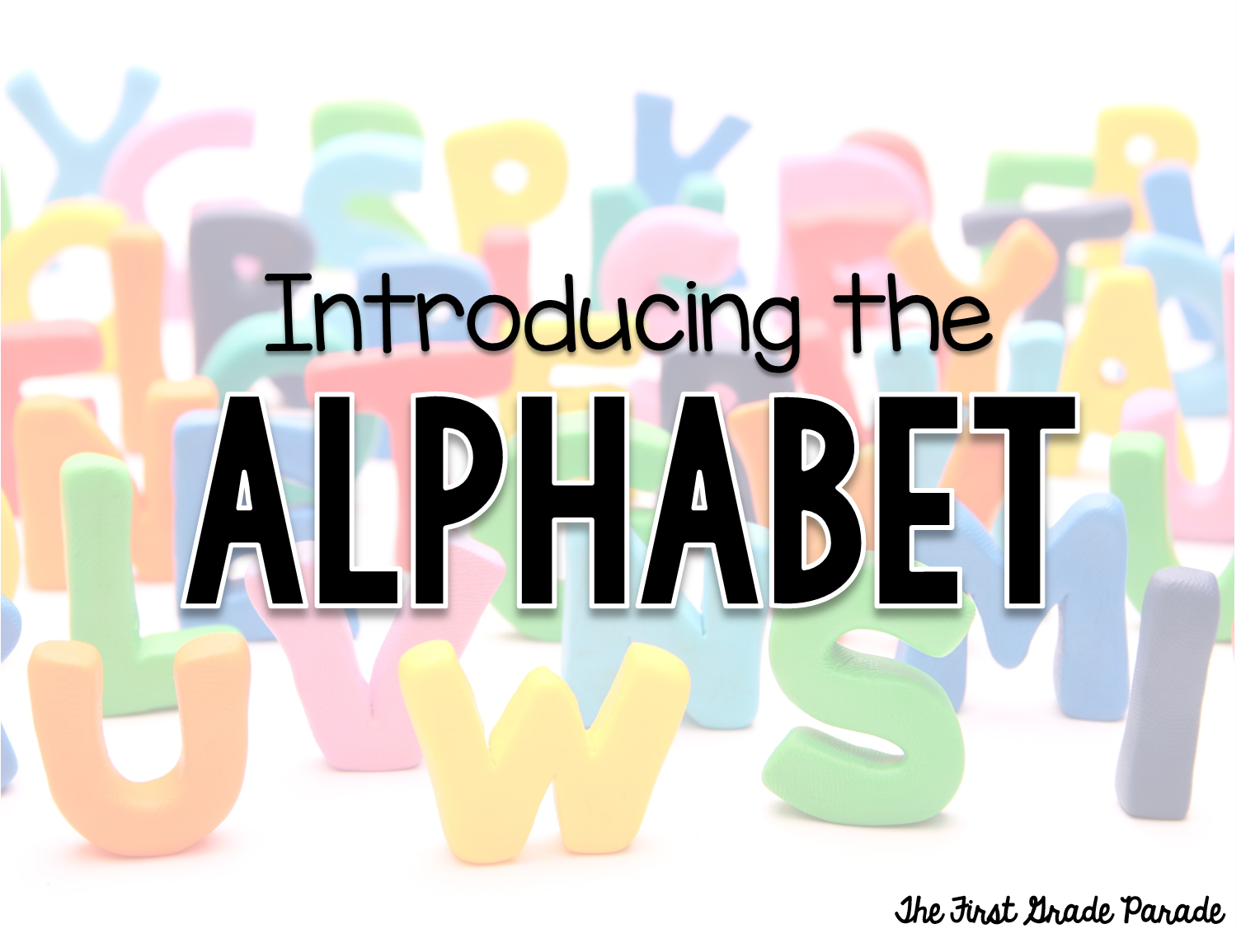 letters in the alphabet all about the alphabet the grade parade 23358 | AlphabetINtro