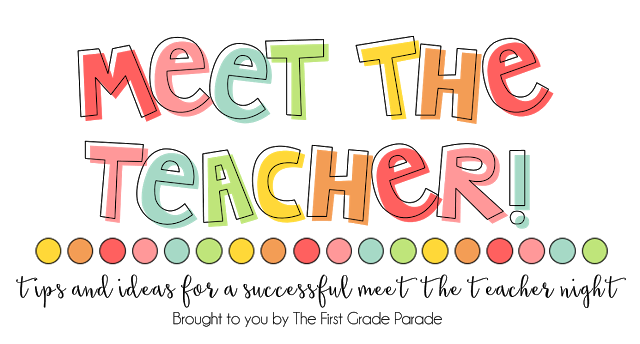 Meet the Teacher Freebies!