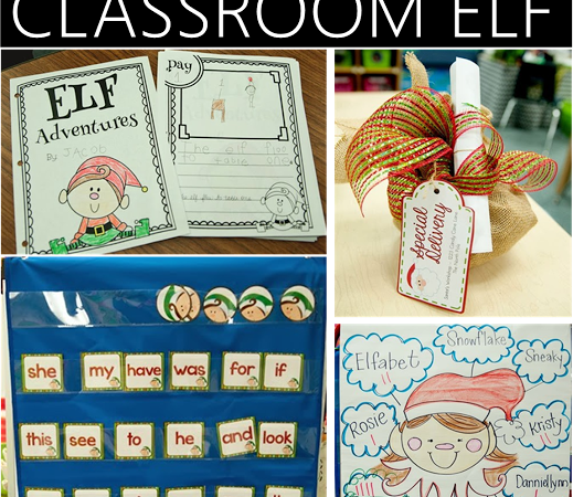 Classroom Elf Freebies & Ideas