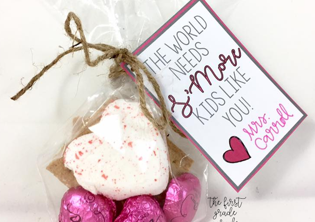 Printable Valentine GIft Tag & Writing Craftivity – FREEBIES!