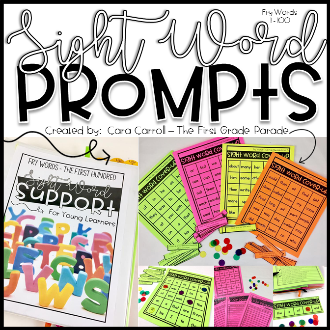 Sight Word Prompts