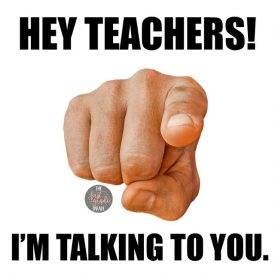 Hey Teachers….It's OKAY.