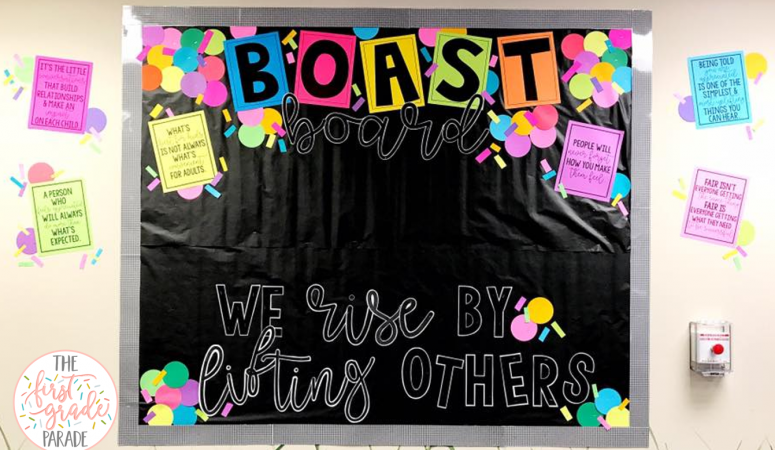 Boast Board – Bulletin Board Idea