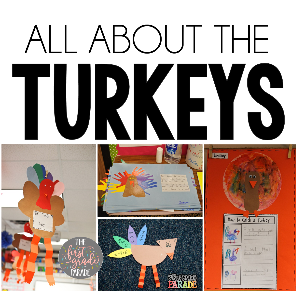 We Read A Lot Of Fiction And Non Texts About Turkeys During The Month November Follow Up With Lots Fun Craftivities That To Reinforce