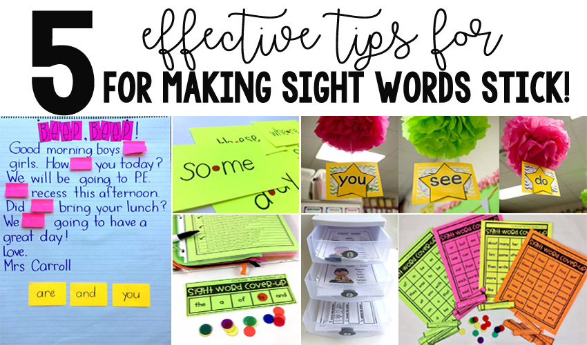 Sight Word Retention