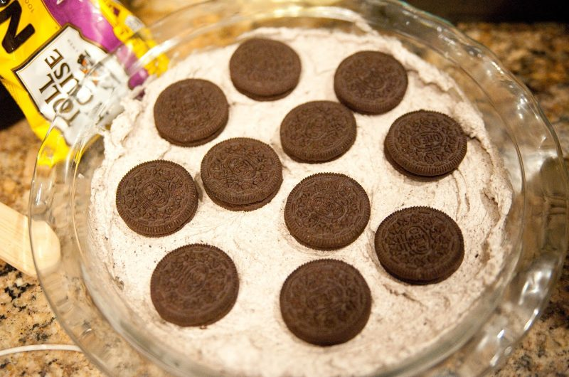 No Bake Oreo Pie
