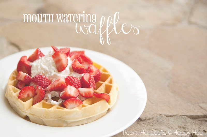 Mouth Watering Waffles